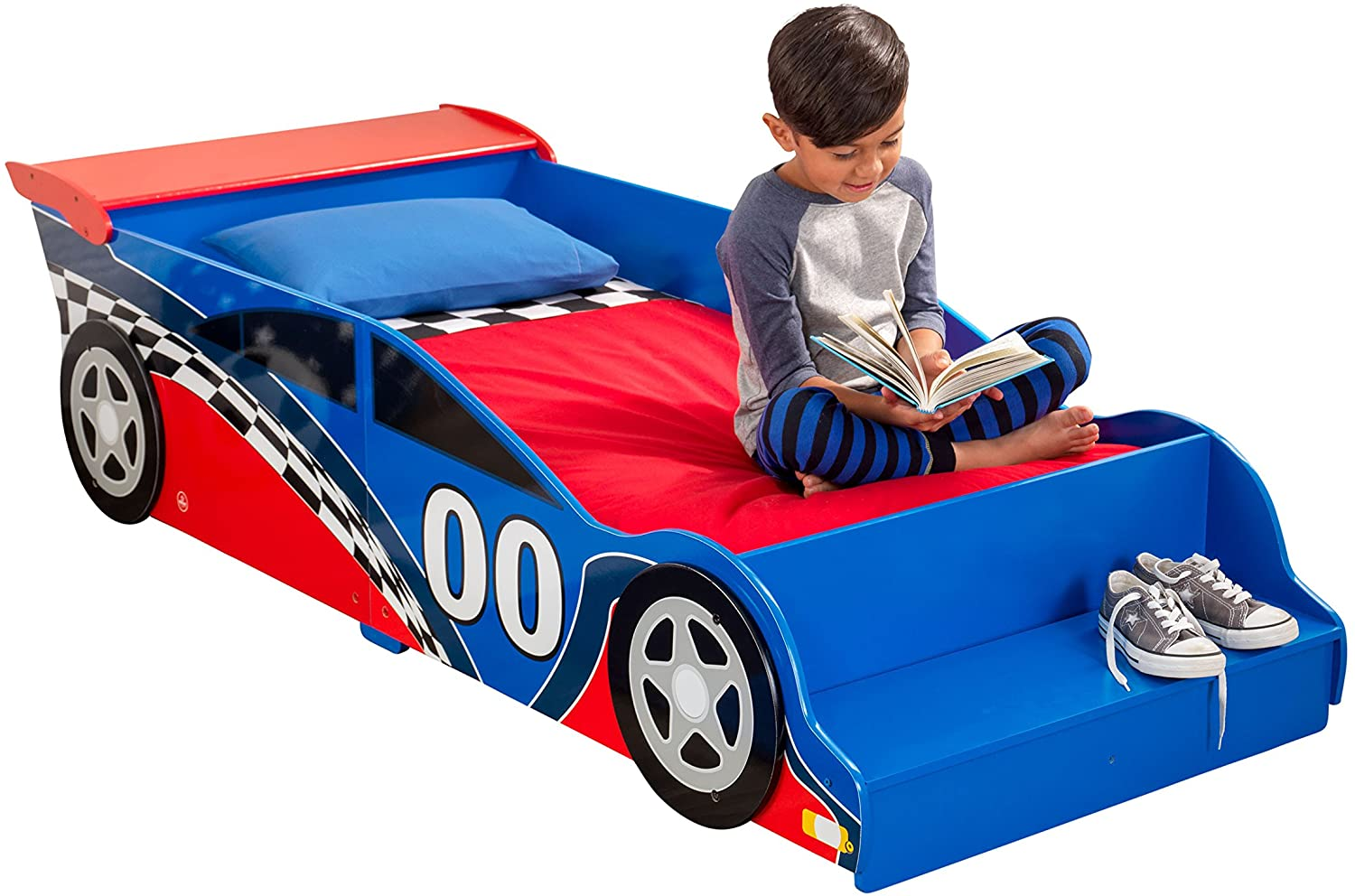 Reviewing the Best Race Car Toddler Bed from KidKraft 4