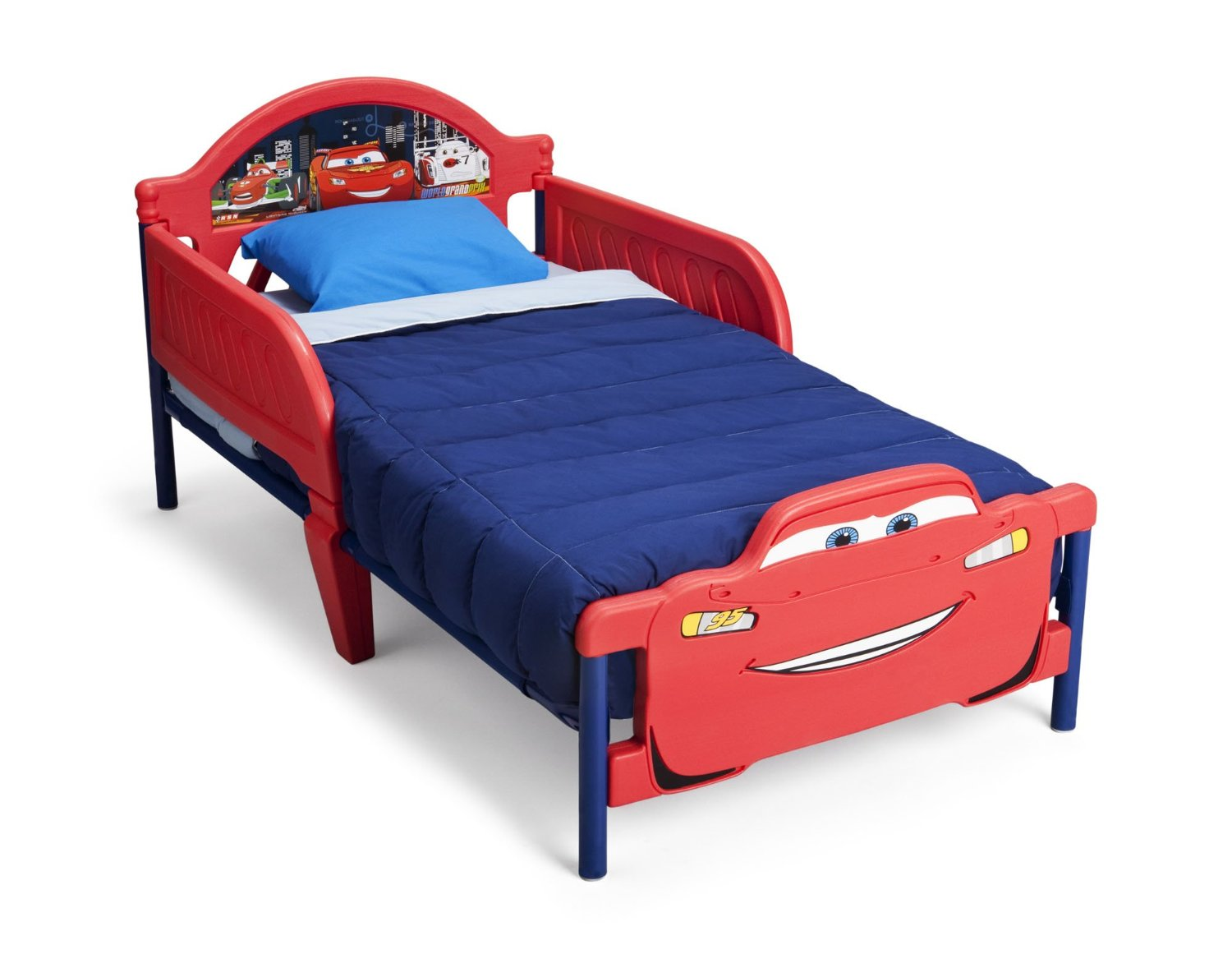 Reviewing the Delta Children Disney Pixar Cars Wood Toddler Bed 12