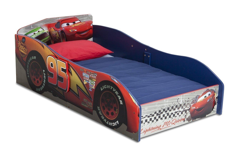 Reviewing The Delta Children Disney Pixar Cars Wood Toddler Bed