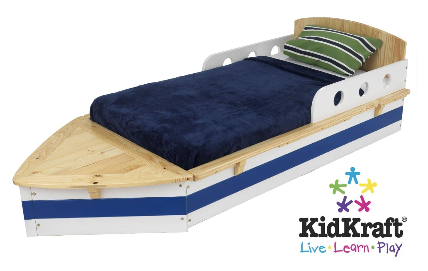 Comprehensive Review Of The KidKraft Boat Toddler Bed