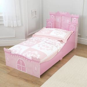 kidkraft princess castle toddler bed