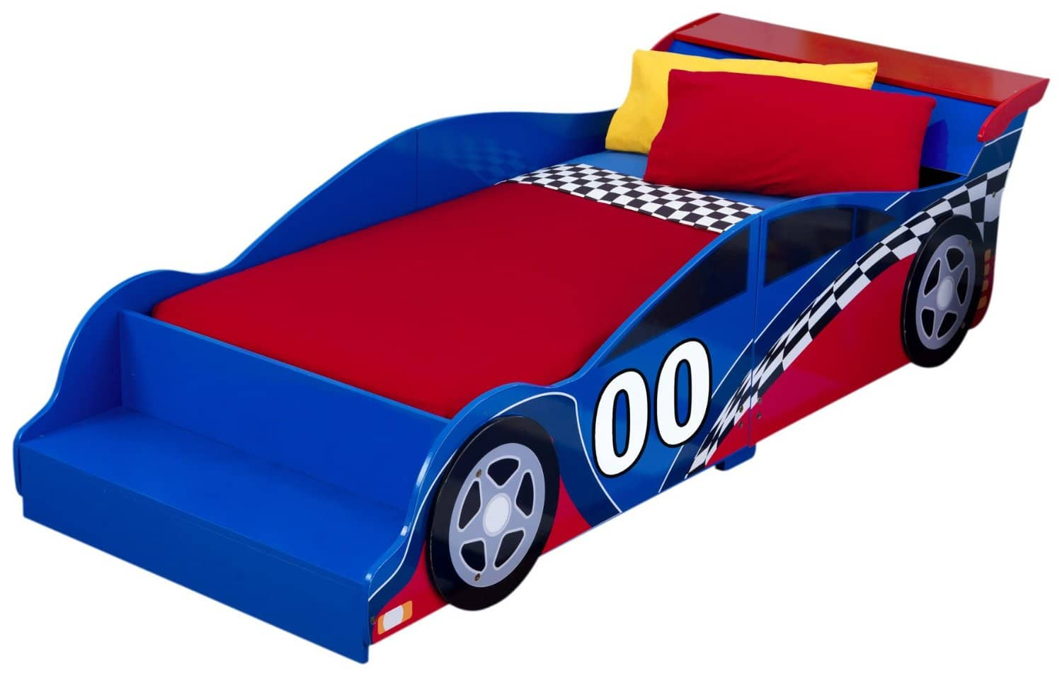 Reviewing The Best Race Car Toddler Bed From KidKraft