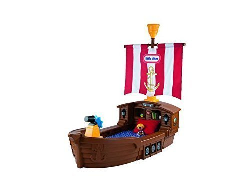 Little Tikes Pirate Ship Toddler Bed - Is it the best plastic bed you can buy? 12
