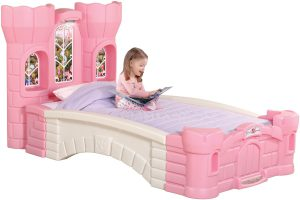 step2 princess palace twin bed
