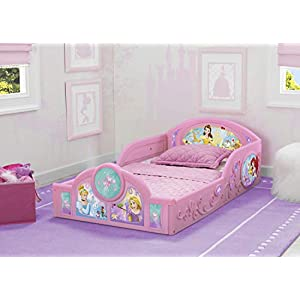 Delta Children Princess Sleep and Play Toddler Bed - The Perfect Bed for Little Girls 2