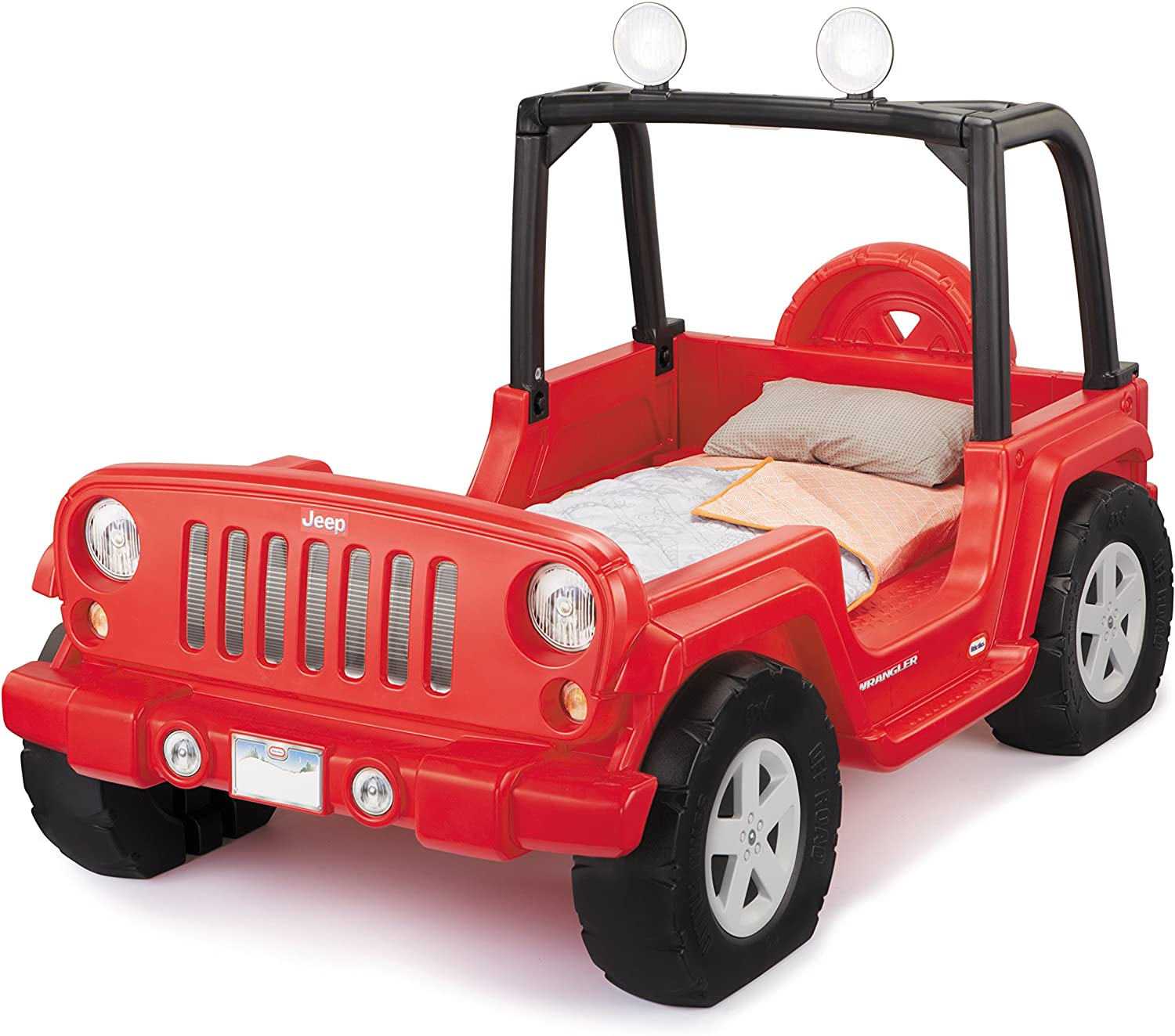 Full Review and Comparison of the Little Tikes Jeep Wrangler Toddler Twin Bed 1