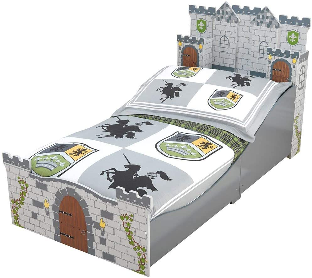 Ultimate Review of the KidKraft Boy's Medieval Castle Toddler Bed 9