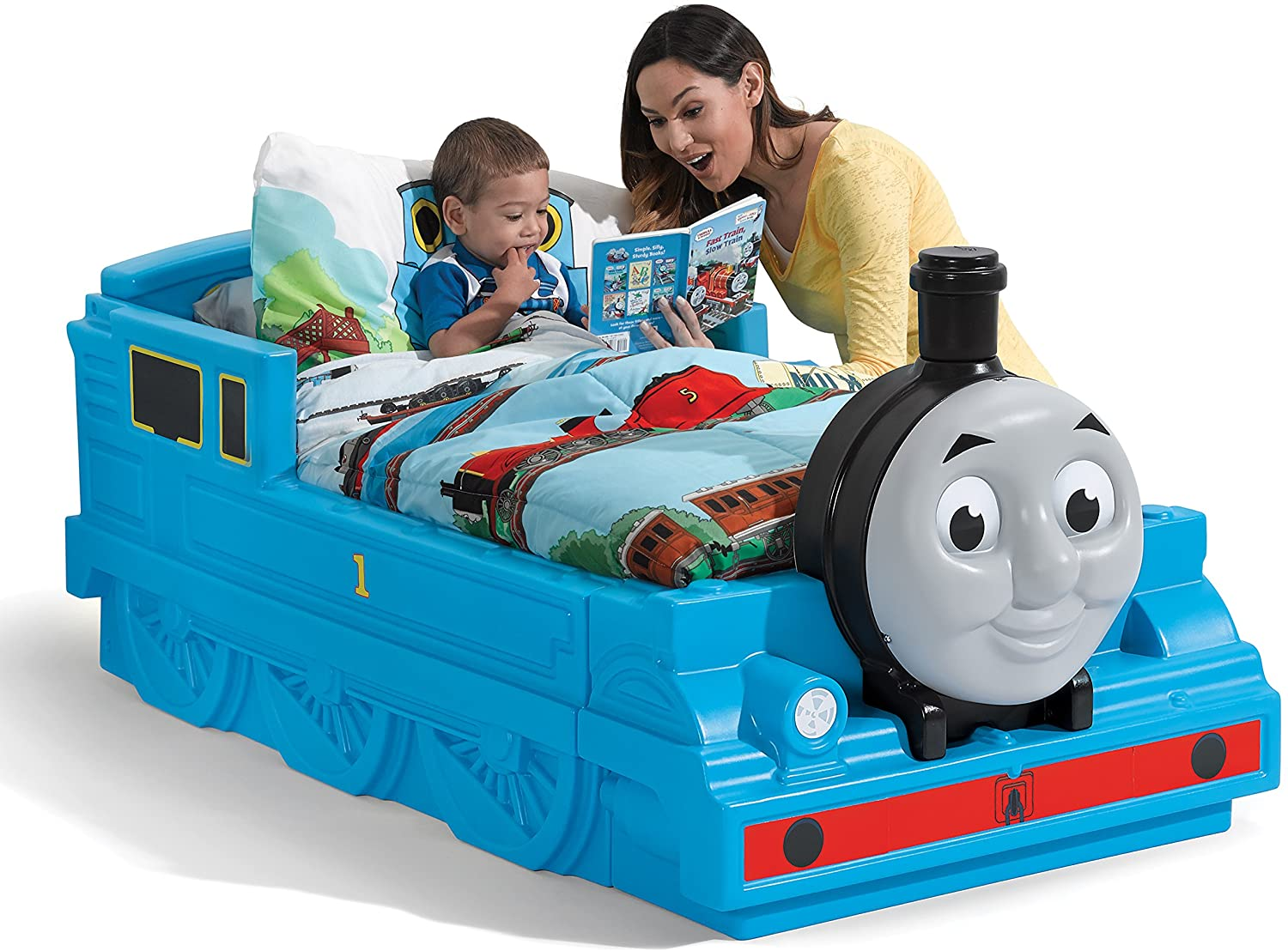 Step2 Thomas the Tank Engine Toddler Bed Review - The Best Branded Kids Bed 10