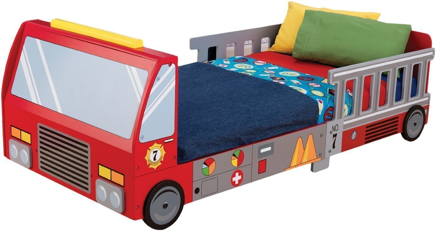 Full Reivew Of KidKraft Fire Truck Toddler Bed