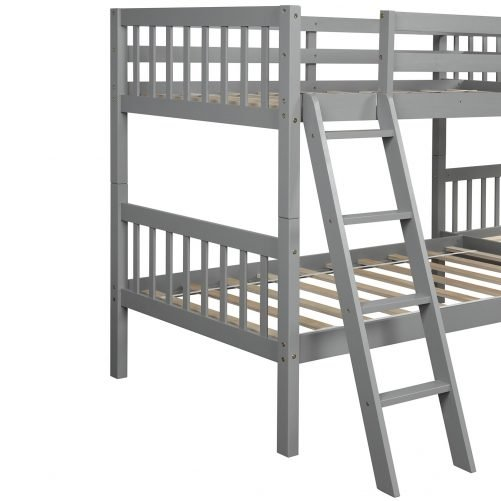 L-Shaped Bunk Bed Twin Size 22
