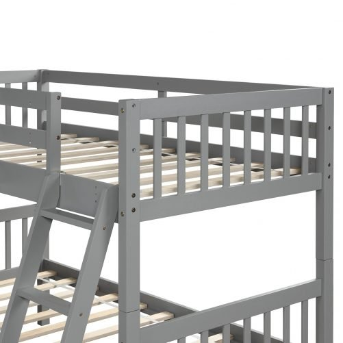 L-Shaped Bunk Bed Twin Size 20