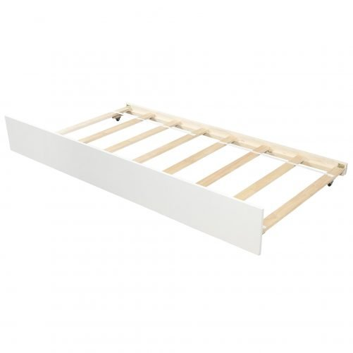 Twin over Twin Bunk Bed, with Trundle and Storage 12