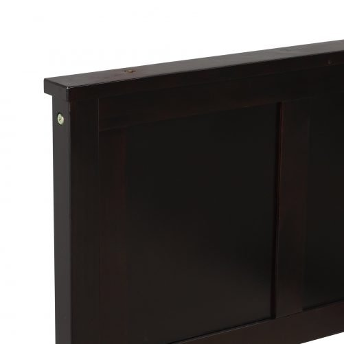 Platform Storage Bed, 2 Drawers With Wheels 11