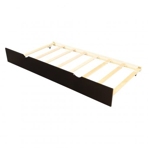Platform Bed With Twin Size Trundle 14