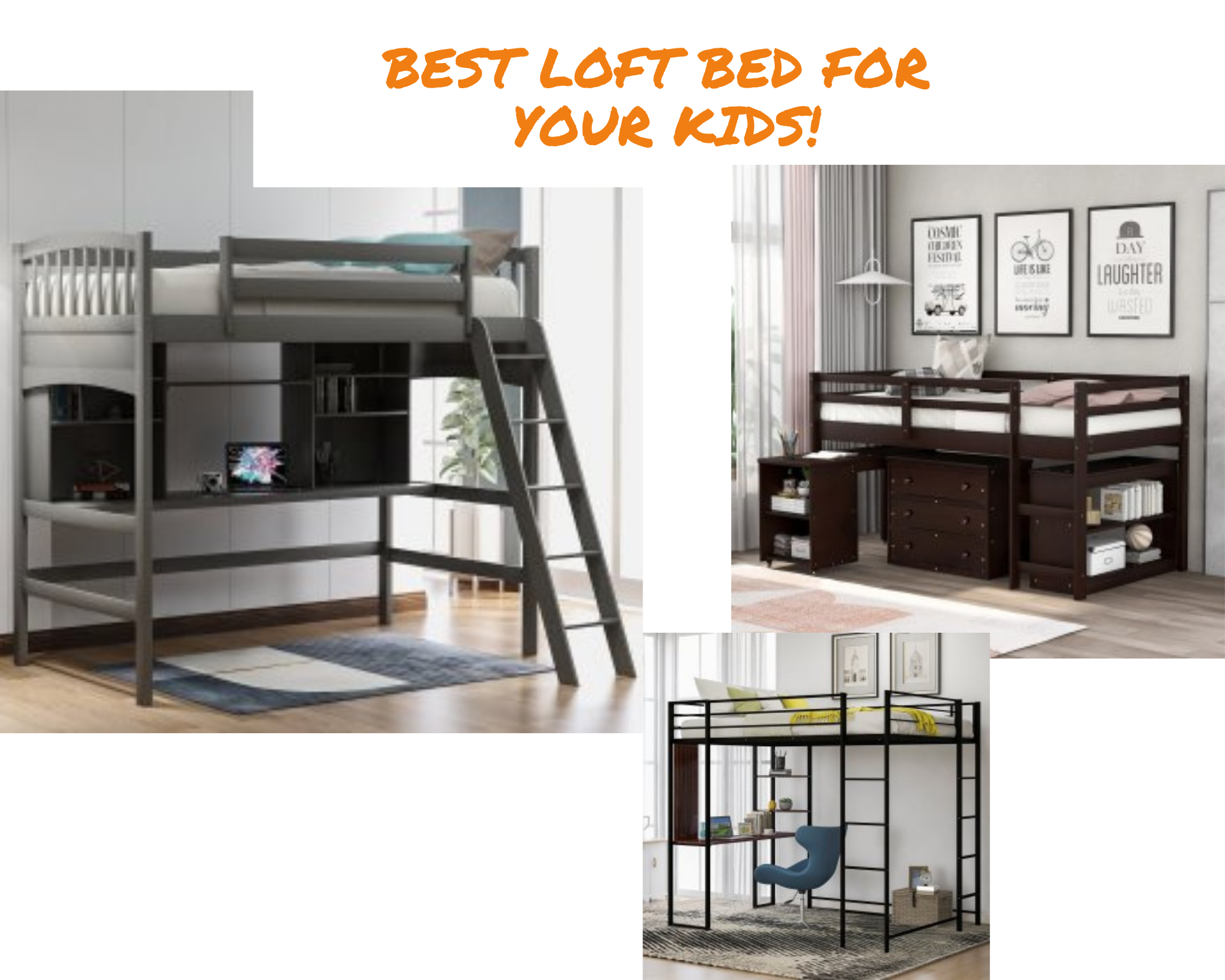 Best Kids Loft Bed With Desk