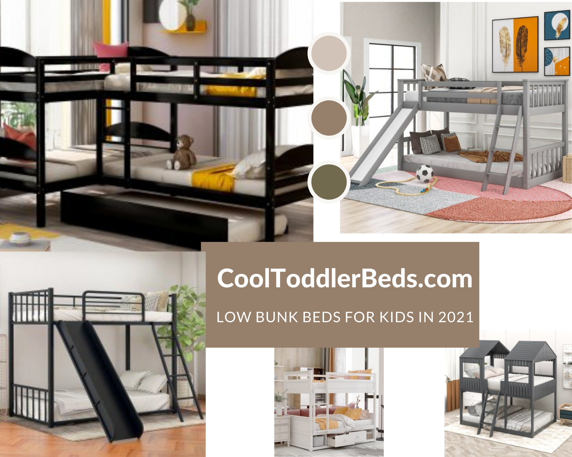 Best Low Bunk Beds for Kids