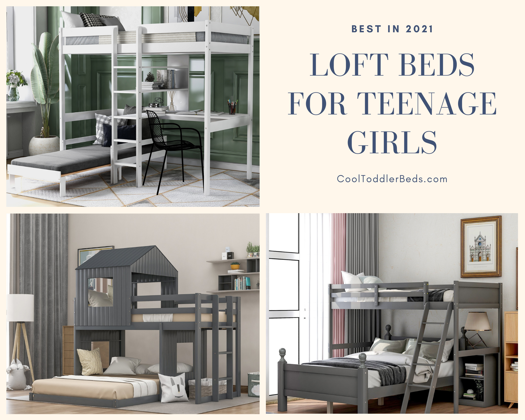 Best Loft Beds For Teenage Girls