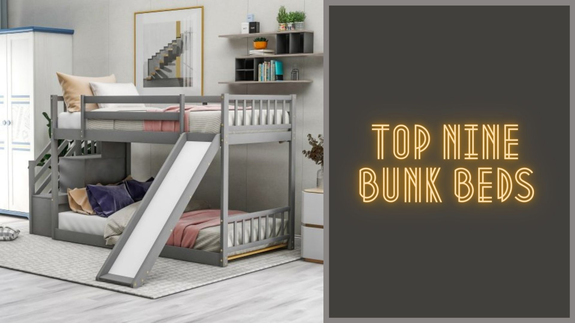 Top 9 bunk beds for toddler and kids