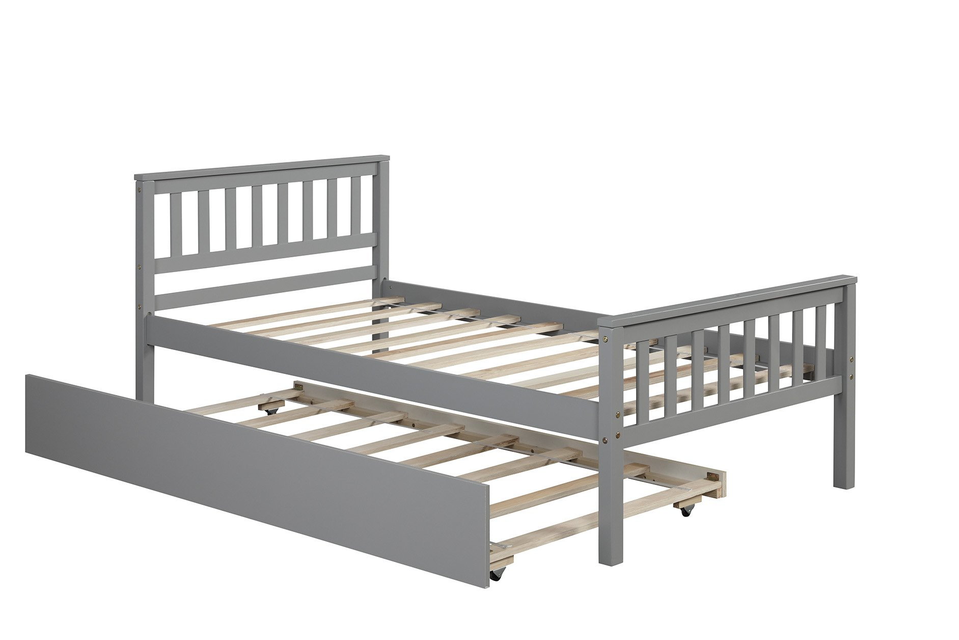 Twin Platform Bed With Trundle