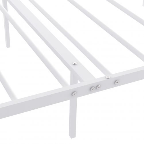 Twin Size Metal Bed Frame With Headboard And Footboard