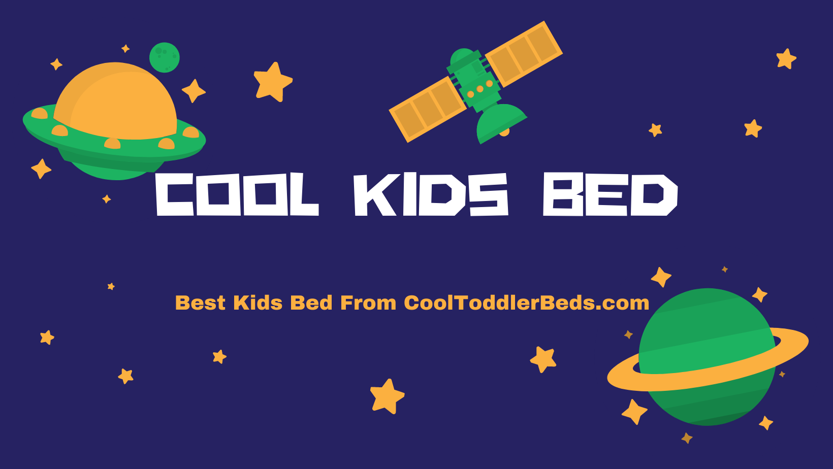 Best Kids Bed From CoolToddlerBeds.com