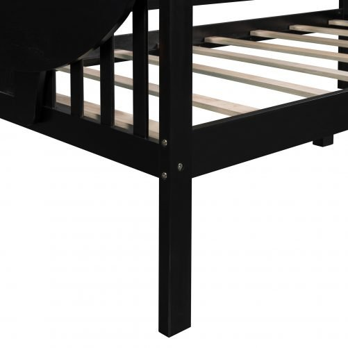 Twin Size Daybed, Wood Slat Support