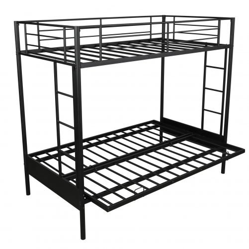 Twin over Full Metal Bunk Bed, Multi-Function 12