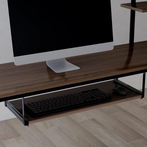 Loft bed with Dsek and Shelf , Space Saving Design 6