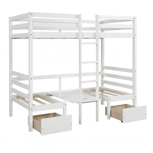 Functional Bunk bed , twin size 7