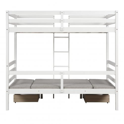 Functional Bunk bed , twin size 9