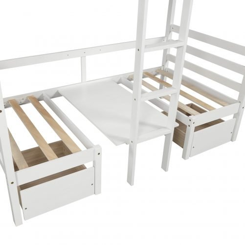 Functional Bunk bed , twin size 10