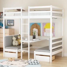 Functional Bunk bed , twin size 2