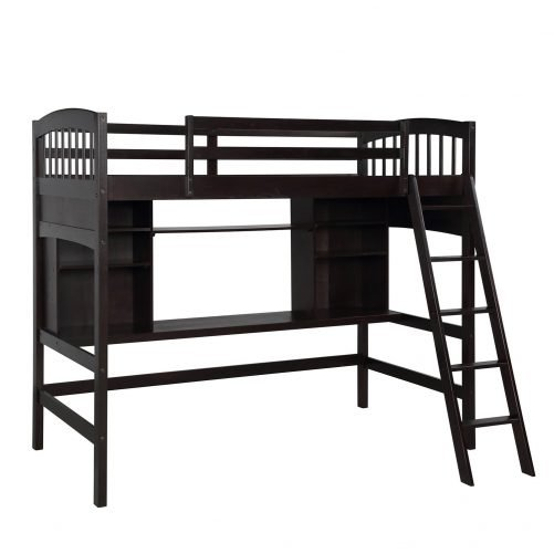 Loft Bed with Desk 3