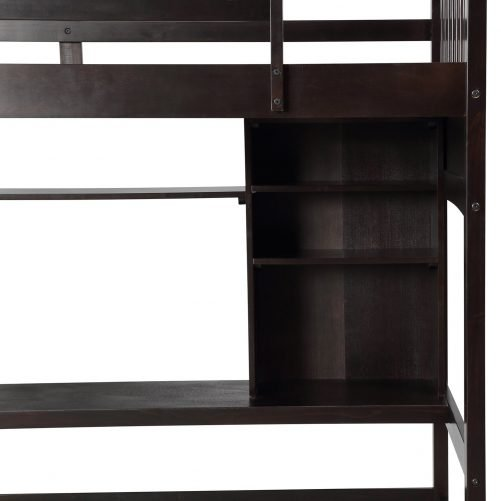 Loft Bed with Desk 7