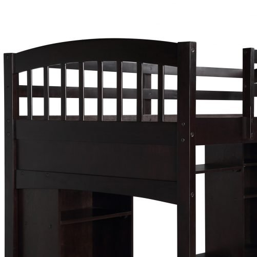 Loft Bed with Desk 8