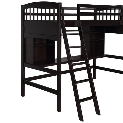 Loft Bed with Desk 2