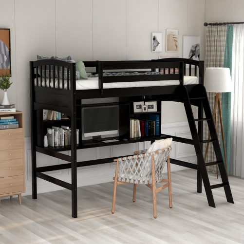 Loft Bed with Desk 4