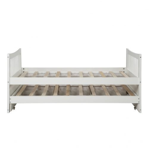 Bed with Trundle and 3 Storage Drawers 6