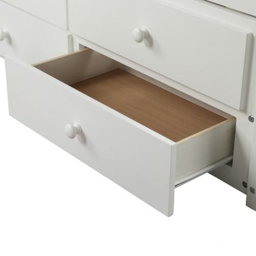 Bed with Trundle and 3 Storage Drawers 2
