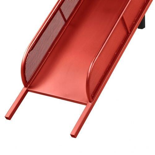 Twin Metal Loft Bed with Slide,Low loft 26