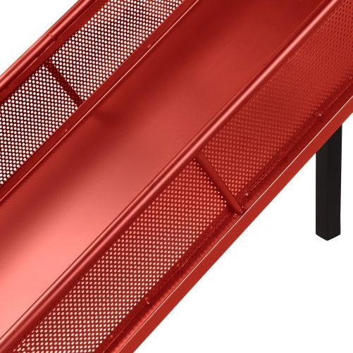 Twin Metal Loft Bed with Slide,Low loft 5