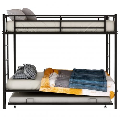 Twin over twin bunk beds with trundle 4