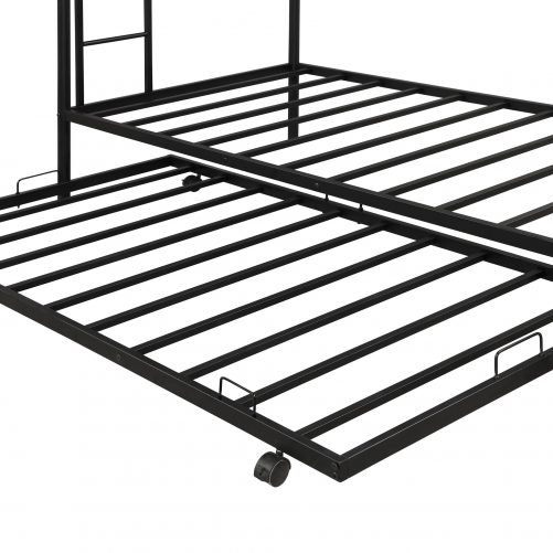 Twin over twin bunk beds with trundle 11