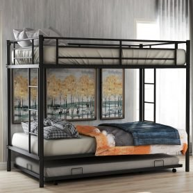 Twin over twin bunk beds with trundle 1