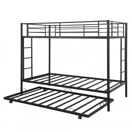 Twin over twin bunk beds with trundle 9