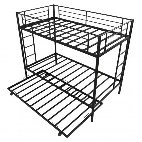 Twin over twin bunk beds with trundle 2