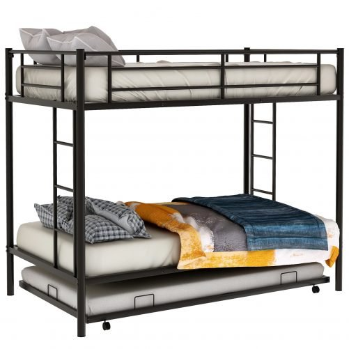 Twin over twin bunk beds with trundle 14
