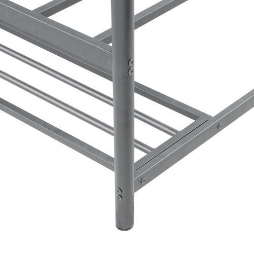 Twin over twin bunk bed with storage 6
