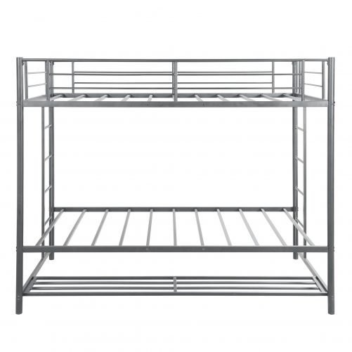 Twin over twin bunk bed with storage 10