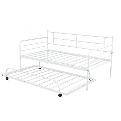 Metal Daybed with Trundle 3